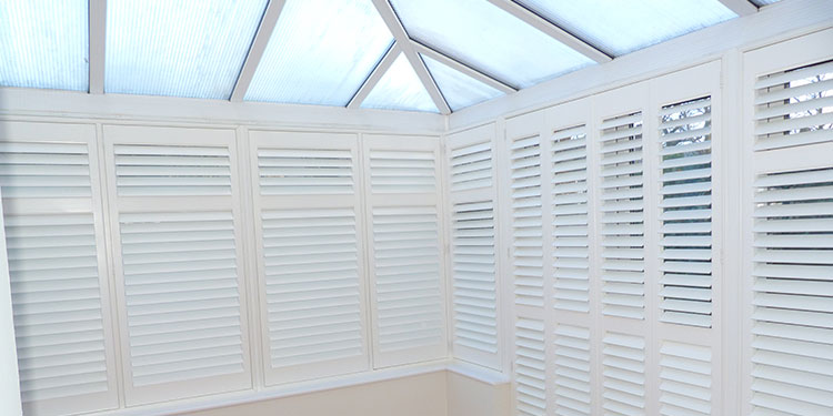 Create a Stylish Conservatory with Shutters