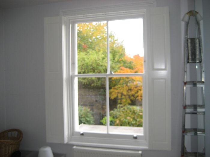 Solid Window Shutters