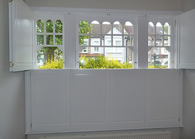 Solid Wood Window shutter